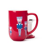 Red Nutcracker Nordic Mug
