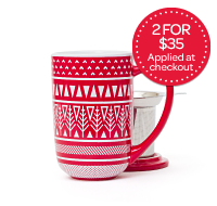 Red Sweater Nordic Mug