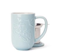 Nordic Hummingbird Textured Mug