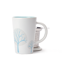 White Snowy Trees Perfect Mug