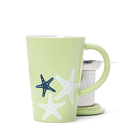 Lime Starfish Perfect Mug