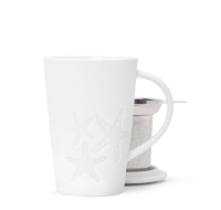 Embossed Starfish Perfect Mug