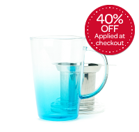 Blue Gradient Glass Perfect Mug