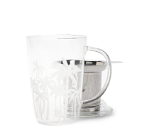 Palm Tree Glass Perfect Mug