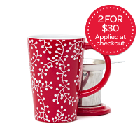 Red Berries Perfect Mug