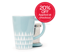 Ice Blue Icicles Perfect Mug
