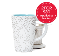 Silver Berries Perfect Mug