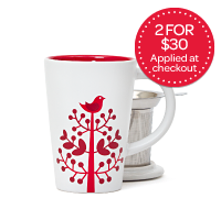 Red Tree Perfect Mug