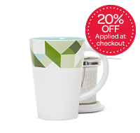 Green Geometric Perfect Mug