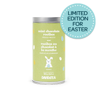 Mint chocolate rooibos rainbow tin