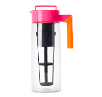 Pink and Orange Iced Tea Pitcher